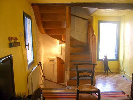 escalier vers chambre