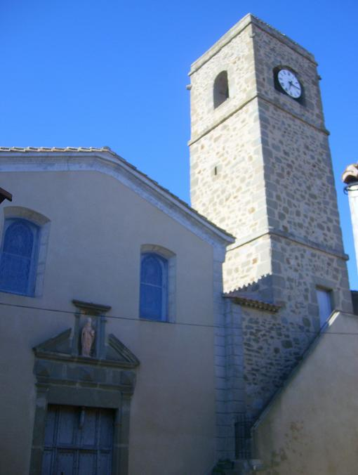 église romane à ginestas