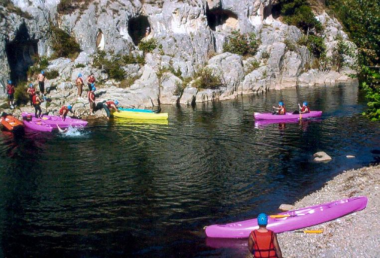 kayak dans le minervois