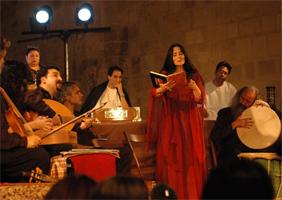 Jordi savall au festival musique et histoire à fontfroide