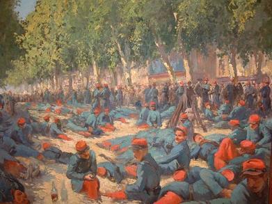 soutien des militaires 1907